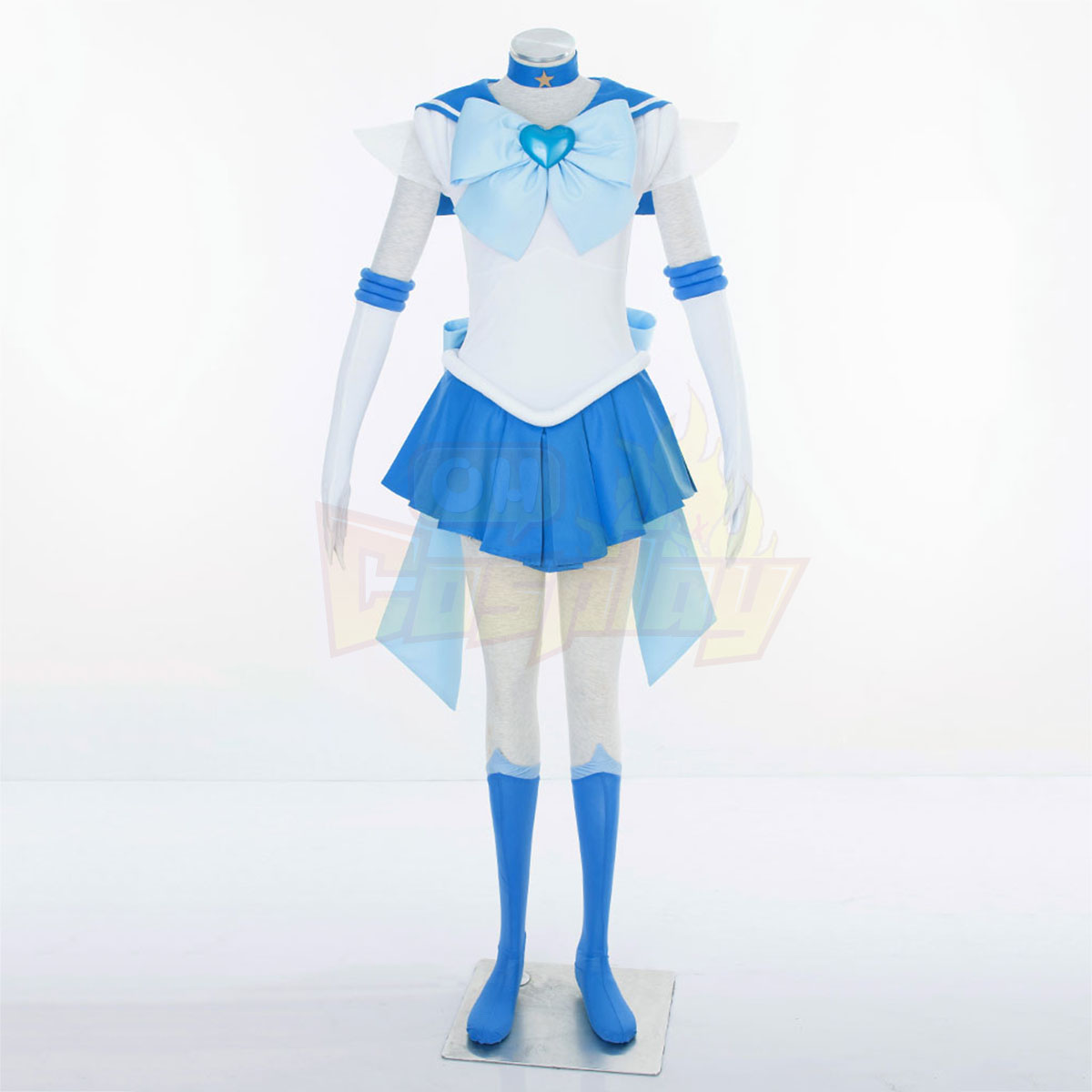 Sailor Moon Mercury 3RD Cosplay Costumes Deluxe Edition