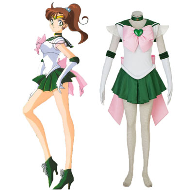 Sailor Moon Kino Makoto 3RD Cosplay Costumes Deluxe Edition