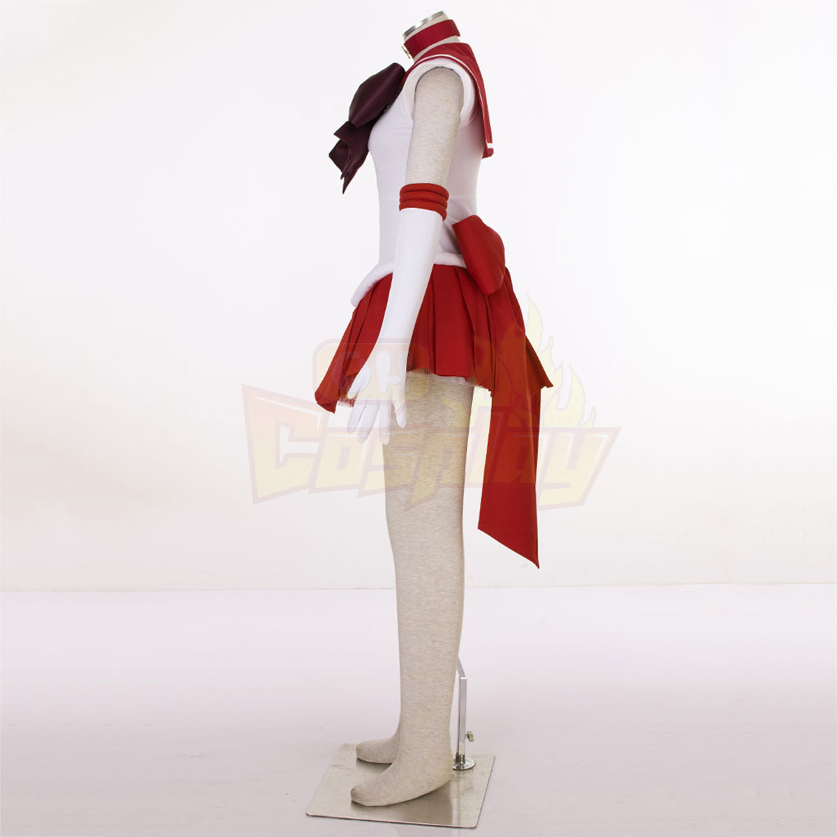 Sailor Moon Hino Rei 3RD Cosplay Costumes Deluxe Edition