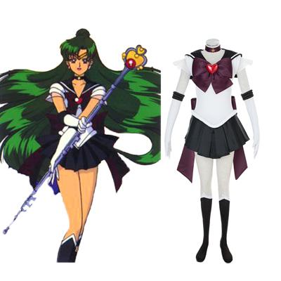 Sailor Moon Meiou Setsuna 3RD Cosplay Costumes Deluxe Edition