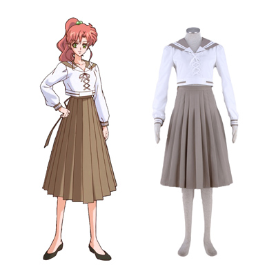 Sailor Moon Kino Makoto 4TH Cosplay Costumes Deluxe Edition