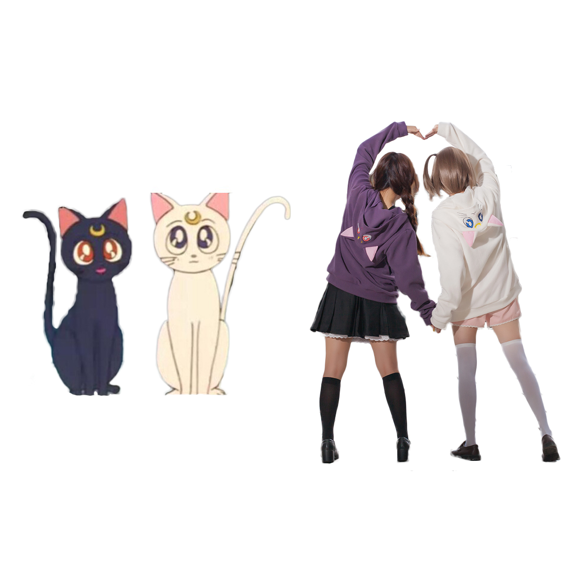 Sailor Moon Luna Cosplay Costumes Deluxe Edition