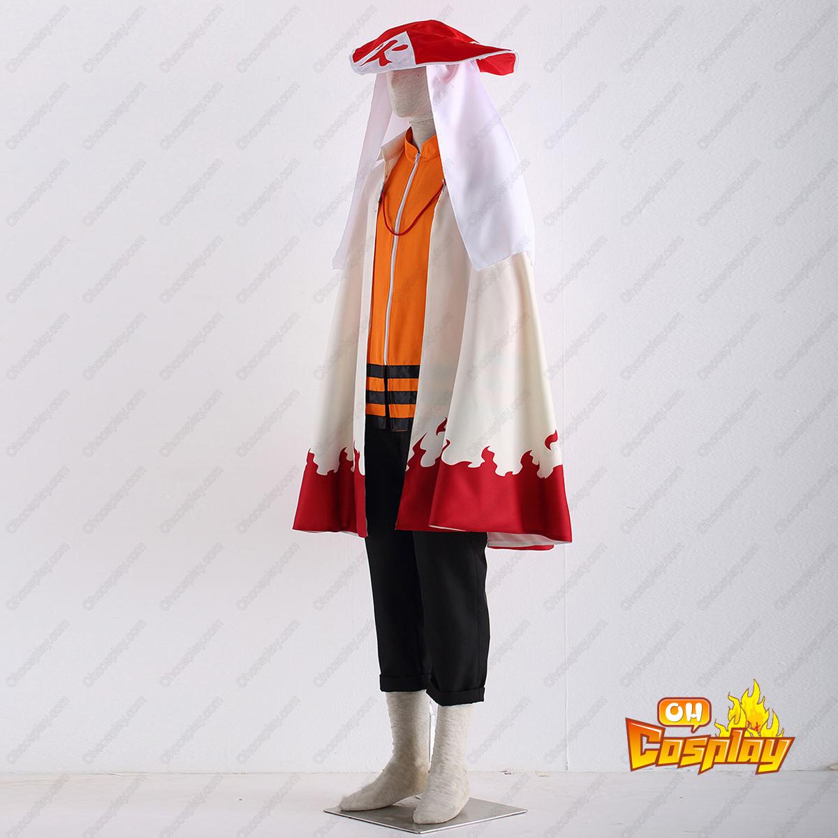 Naruto Shippuuden Naruto Uzumaki 12TH Cosplay Costumes Deluxe Edition