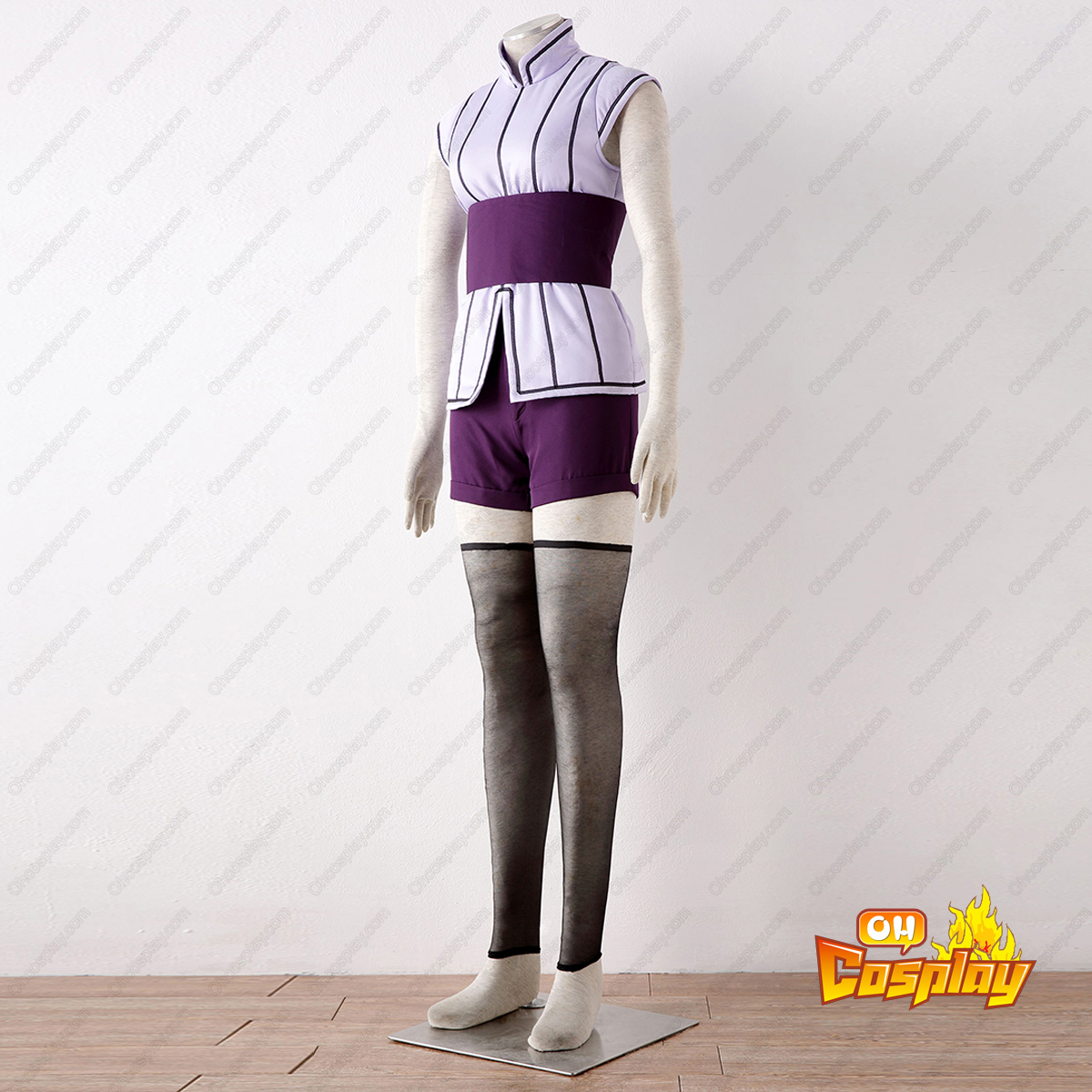 Naruto Hyūga Hinata 4TH Cosplay Costumes Deluxe Edition
