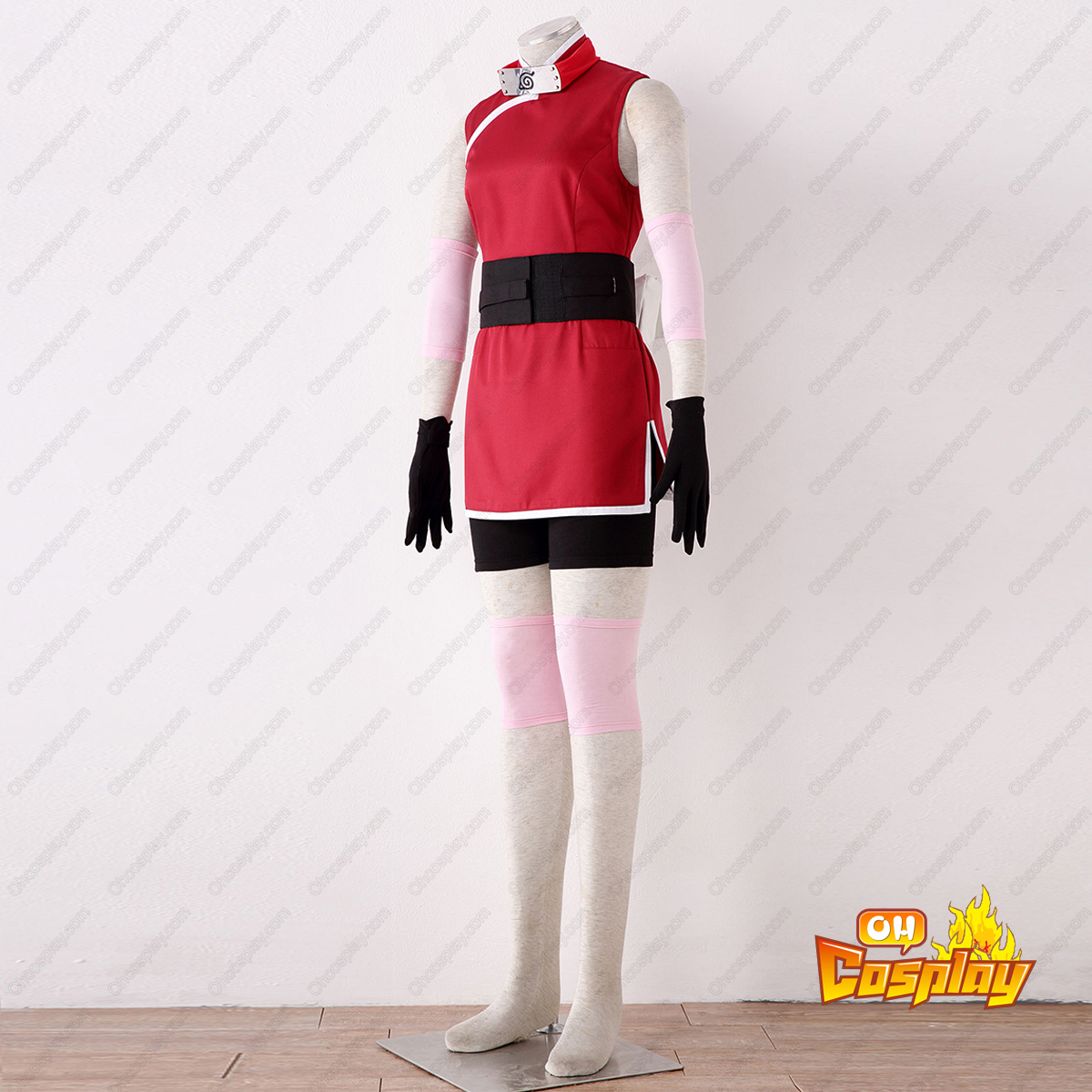Naruto Sakura Haruno 3RD Cosplay Costumes Deluxe Edition