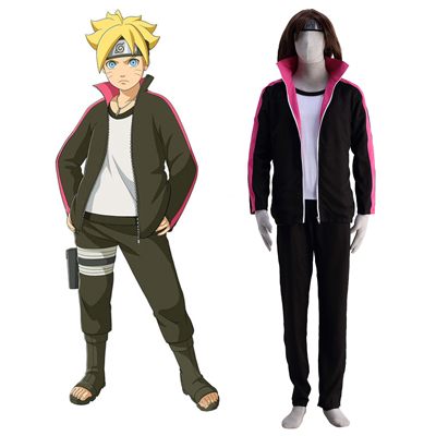 Boruto: Naruto Next Generations Uzumaki Cosplay Costume Full Set