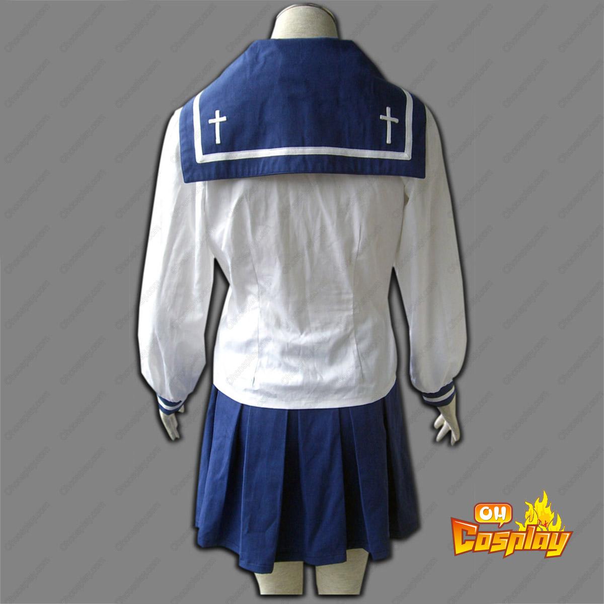 Buso Renkin Tokiko Tsumura Sailor Cosplay Costumes Deluxe Edition