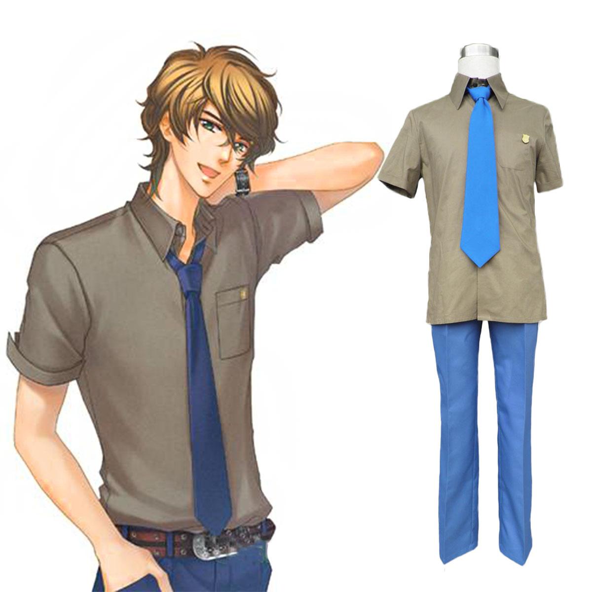 La Corda d\'Oro Sasaki Daichi 1ST Cosplay Costumes Deluxe Edition