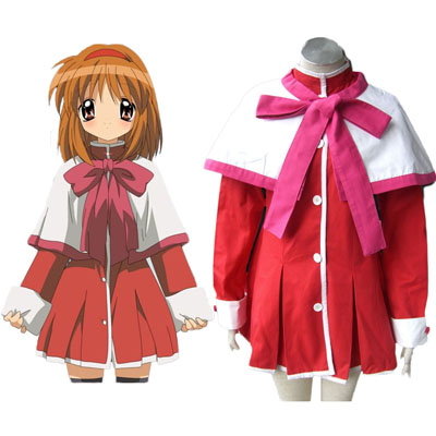 Kanon High School Uniforms Pink Ribbon Cosplay Costumes Deluxe Edition
