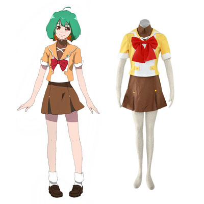 Macross F Ranka Lee 4 Cosplay Kostuums