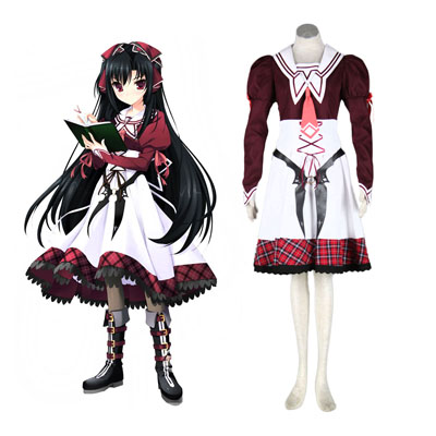 11eyes: Tsumi to Batsu to Aganai no Shōjo Kanae Kuroshiba Cosplay Costumes NZ