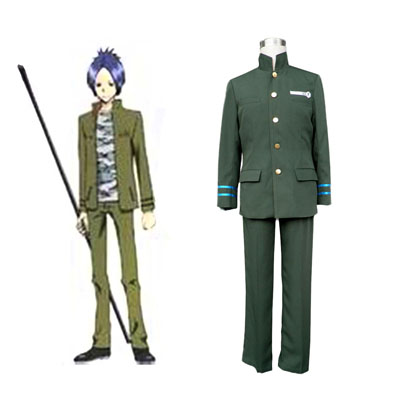 Hitman Reborn Junior High School Male Uniformer 1 Cosplay Kostymer