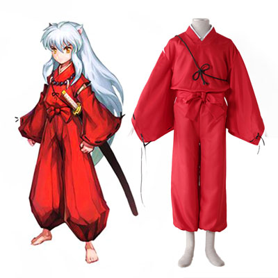Inuyasha 2ND Red Cosplay Costumes Deluxe Edition