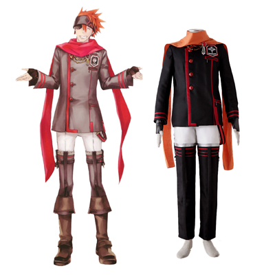 D.Gray-man Lavi 3RD Cosplay Costumes Deluxe Edition