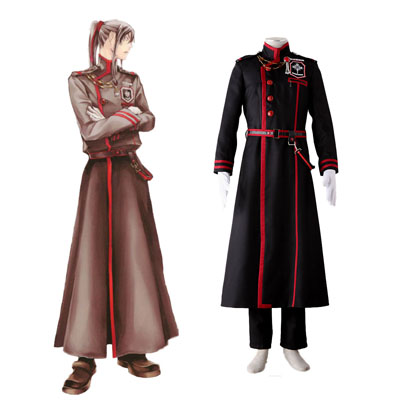 D.Gray-man Yu Kanda 3RD Cosplay Costumes Deluxe Edition