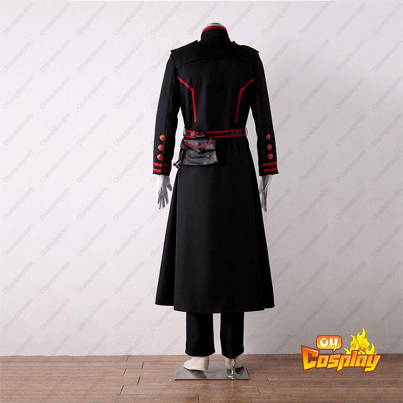 D.Gray-man Yu Kanda 3 Cosplay костюми