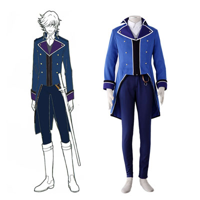 K Blue Organization Uniforms Cosplay Costumes UK