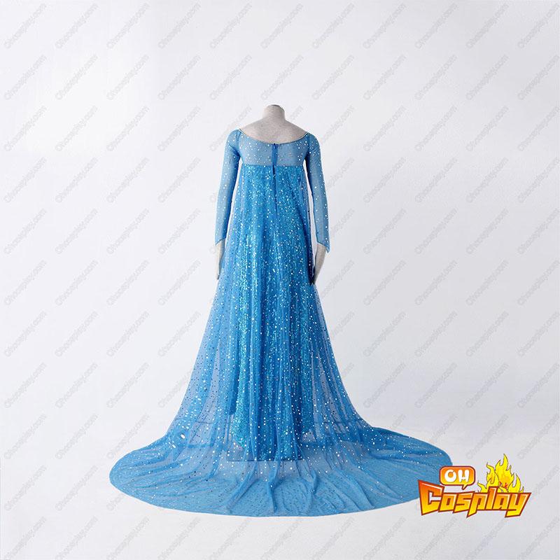 Frozen Elsa 1 Blå udklædning Fastelavn Kostumer