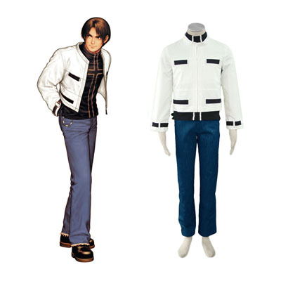 The King Of Fighters Kyo Kusanagi Cosplay Costumes Deluxe Edition