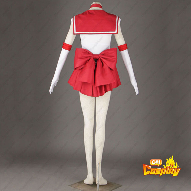 Sailor Moon Hino Rei 1 udklædning Fastelavn Kostumer