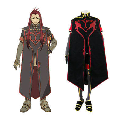 Tales of the Abyss Asch 1 Cosplay Kostymer