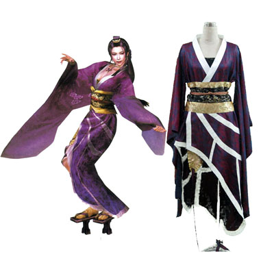 Samurai Warriors Nouhime 1 Cosplay Kostym