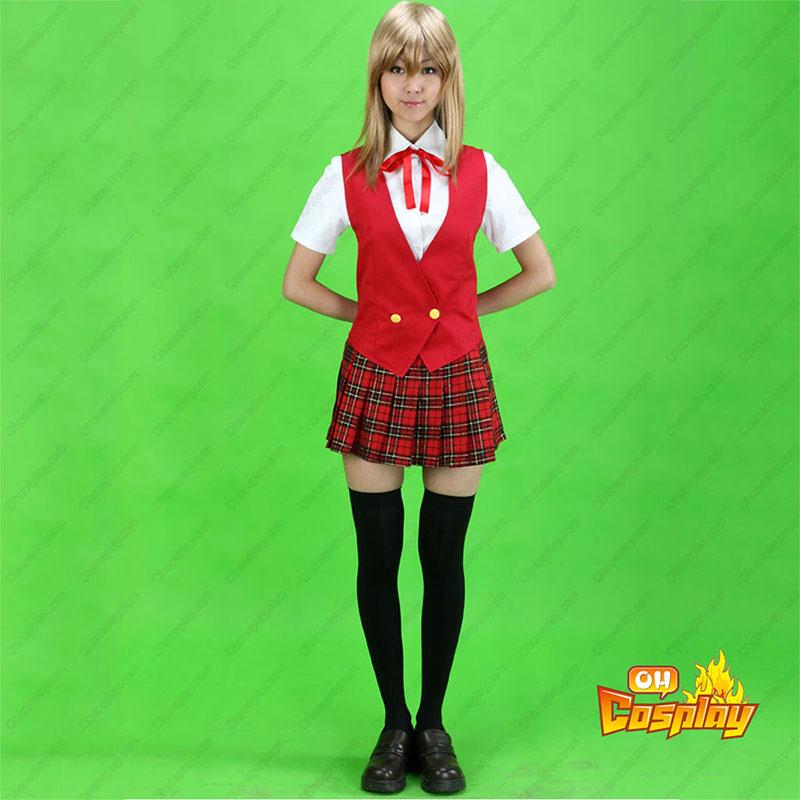 Magister Negi Magi лято School Униформи Cosplay костюми