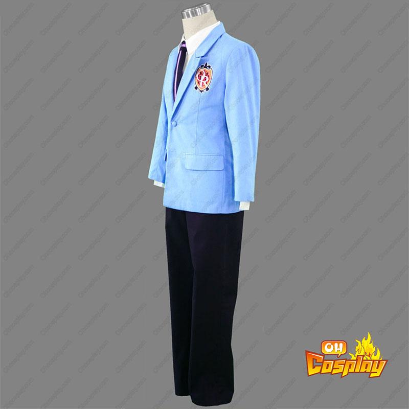 Ouran High School Host Club Male Uniforms Blue Cosplay Costumes Canada