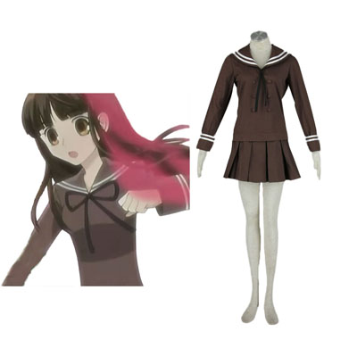 Ouran High School Host Club Haruhi Fujioka Cosplay Costumes UK