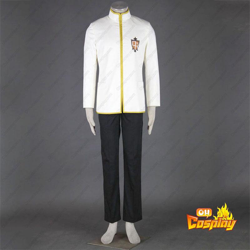 Ouran High School Host Club Male מדים צהוב תחפושות קוספליי