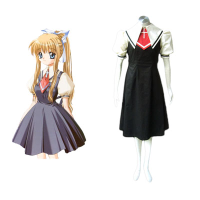 Air Female School Uniforms Cosplay Costumes Deluxe Edition