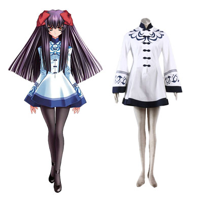 Touka Gettan Winter Female Uniform Cosplay Costumes