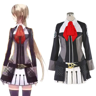 Starry Sky Hunn Vinter School Uniform Cosplay Kostymer