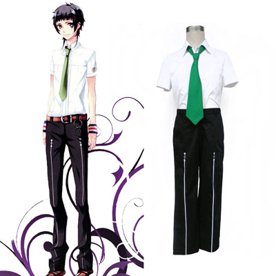 Starry Sky Male Sommar School Uniform 2 Cosplay Kostym