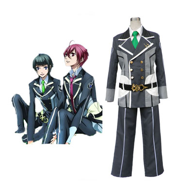 Déguisement Costume Carnaval Cosplay Starry Sky Male Winter Uniforme scolaire 2