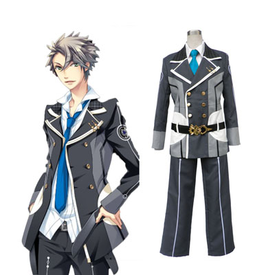 Déguisement Costume Carnaval Cosplay Starry Sky Male Winter Uniforme scolaire 3