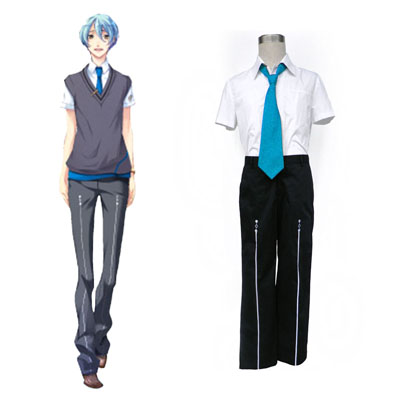 Starry Sky Male Sommer School Uniform 3 Cosplay Kostymer