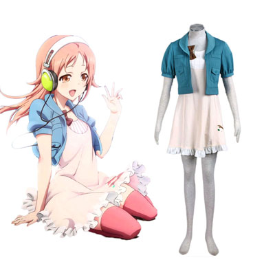 Tari Tari Miyamoto konatsu 2 Cosplay Kostym