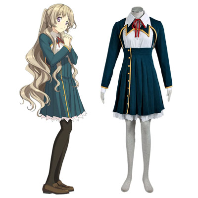 Love, Election and Chocolate Kiba Mifuyu 1ST Cosplay Costumes Deluxe Edition