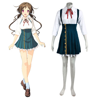Love, Election and Chocolate Aomi Isara 1ST Cosplay Costumes Deluxe Edition