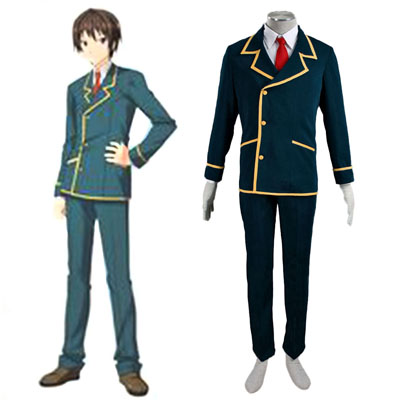 Love, Election and Chocolate Ohjima Yuuki 1ST Cosplay Costumes Deluxe Edition