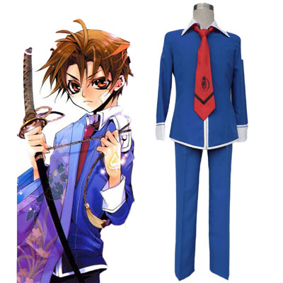 Momogumi PLUS Senki Wniter School Uniform Cosplay Kostym