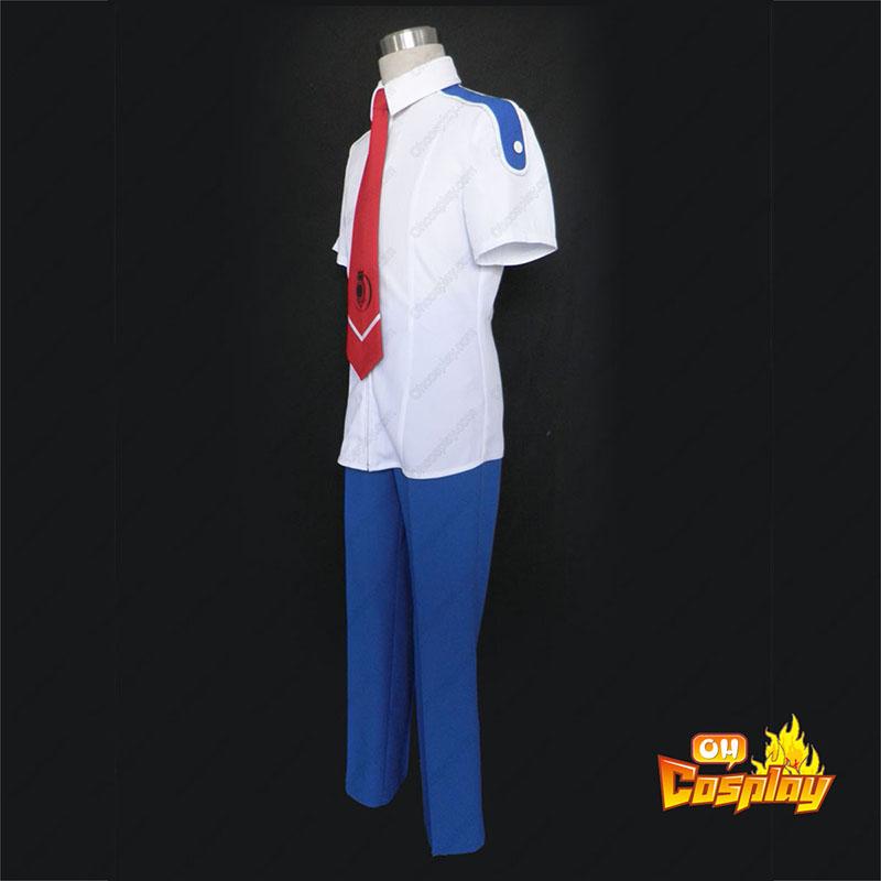 Momogumi PLUS Senki Verão School Uniform Traje Cosplay