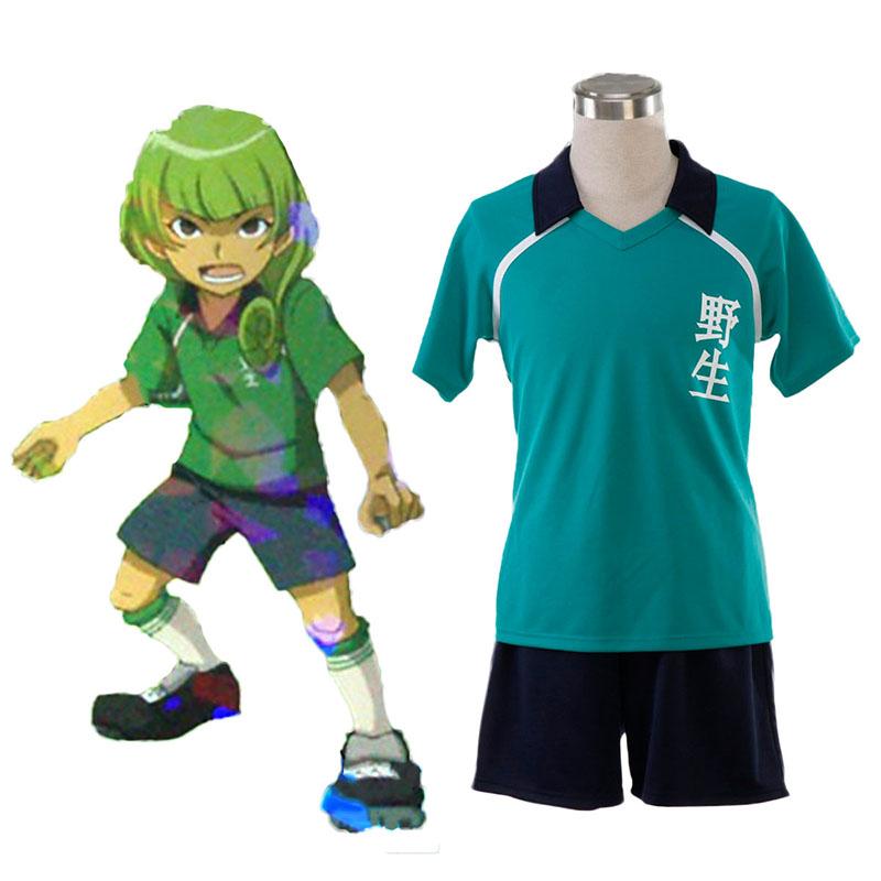 Inazuma Eleven Nosei лято Soccer жарсе 1 Cosplay костюми