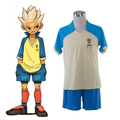 Inazuma Eleven Raimon Summer Soccer Jersey 1 Cosplay Costumes UK