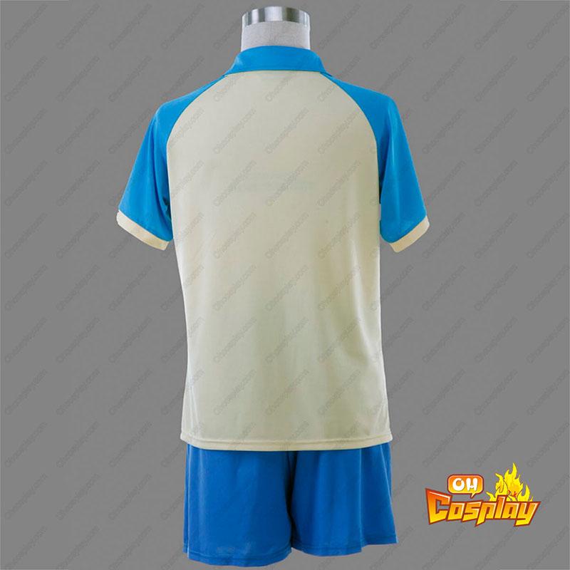 Inazuma Eleven Raimon Verão Soccer Jersey 1 Traje Cosplay