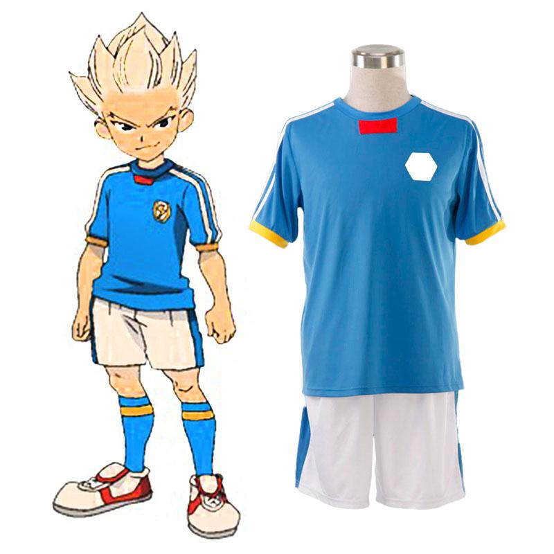 Inazuma Eleven Japan National Team Sommar 1 Cosplay Kostym