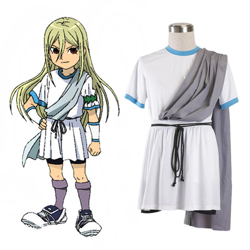 Inazuma Eleven Zeus Fotbollströja 1 Cosplay Kostym