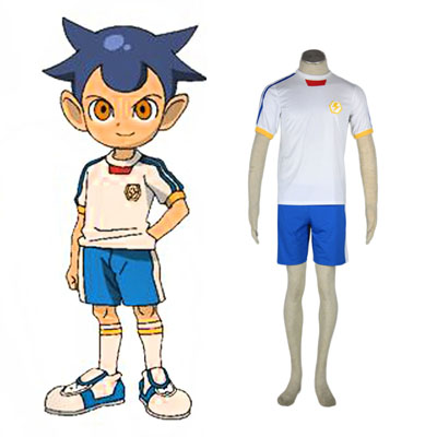 Inazuma Eleven Japan Team Sommar 2 Cosplay Kostym