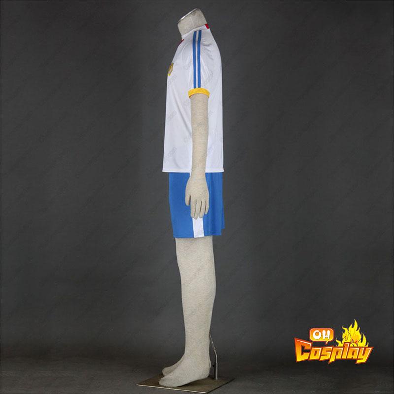 Inazuma Eleven Japan Team Sommer 2 udklædning Fastelavn Kostumer